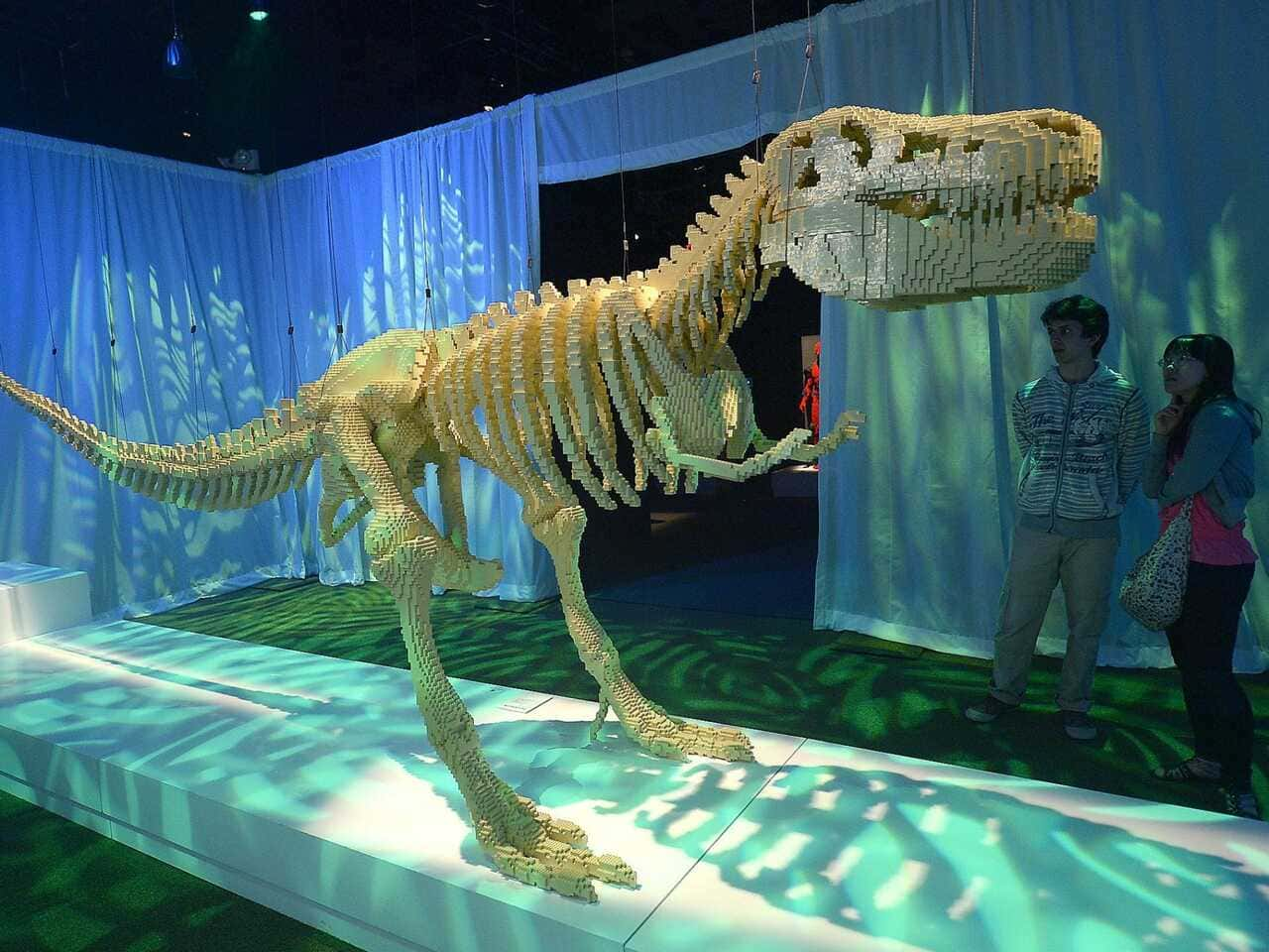 Lego Exhibit At New York Hall of Science