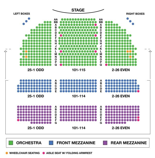Ethyl Barrymore Theatre Seating Chart
