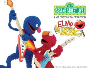Sesame Street Live Elmo Makes Music NYC