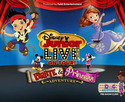 Disney Junior Live Pirate And Princess Adventure