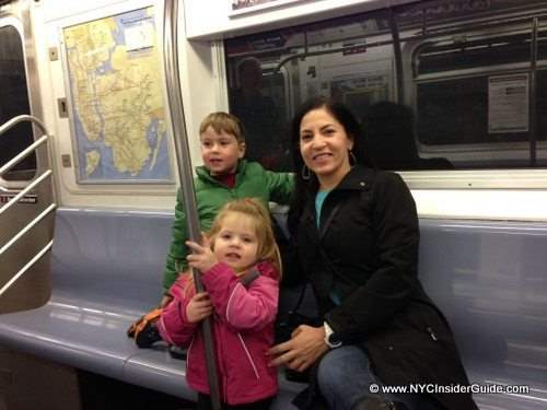 Riding the NYC Subway with Kids