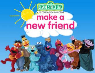 Sesame Street Live Make a New Friend
