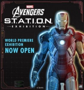 Marvel Avengers Station Exhibit