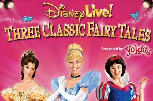 Disney Live Three Classic Fairy Tales