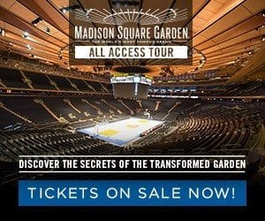 Wonderful Madison Square Garden All Access Tour