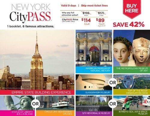 CityPASS New York Includes 9-11 Memorial Museum