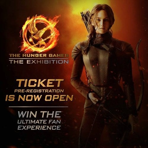 The Hunger Games Exhibition NYC
