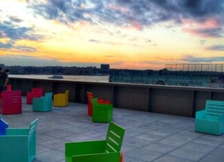 Whitney Museum Rooftop View