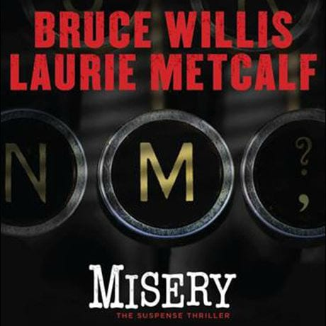 misery broadway play bruce willis