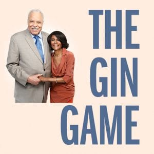 The Gin Game on Broadway James Earl Jones and Cicely Tyson