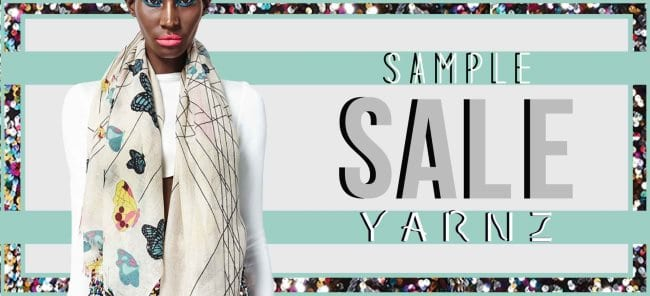 Yarnz Cashmere Sample Sale