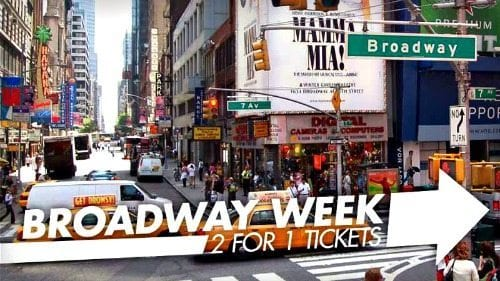 Broadway Week New York City 2019 | 2 for 1 Tickets, Save 50