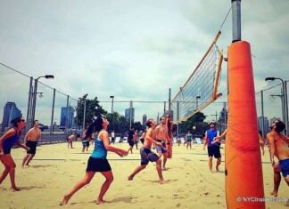 Volleyball in New York City