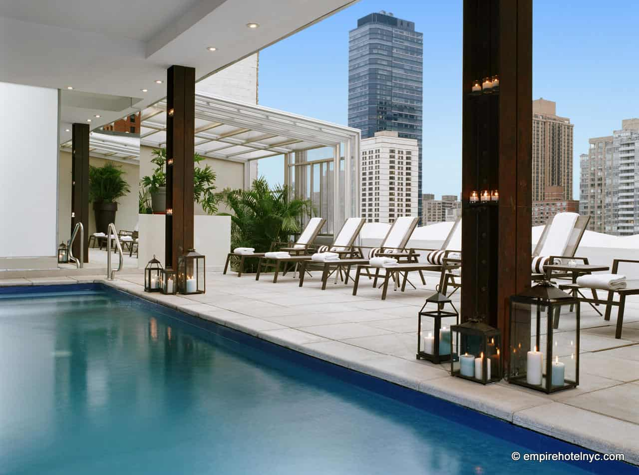 Empire Hotel Outdoor Pool