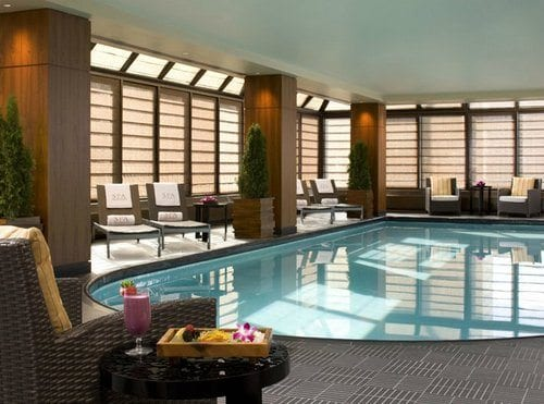 Peninsula Hotel Indoor Pool