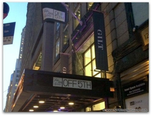 Saks Off Fifth NYC