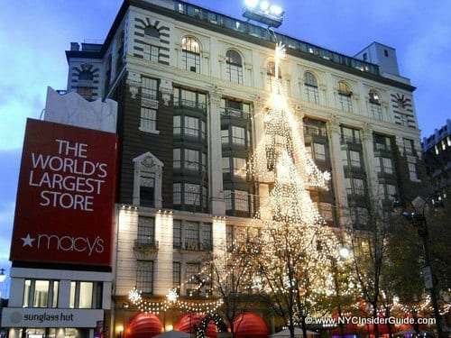 Shopping in NYC Department Stores