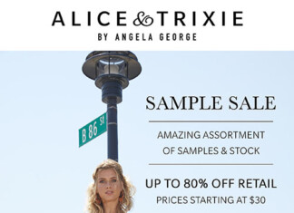 Alice and Trixie Sample Sale