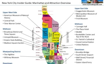 Nyc Map Of Manhattan On Nyc Insider Guide