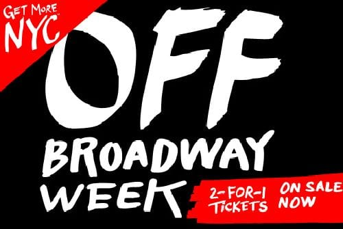 NYC Off-Broadway Week