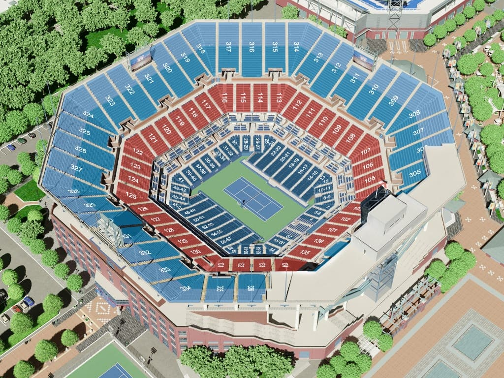 us tennis open arthur ashe stadium seating