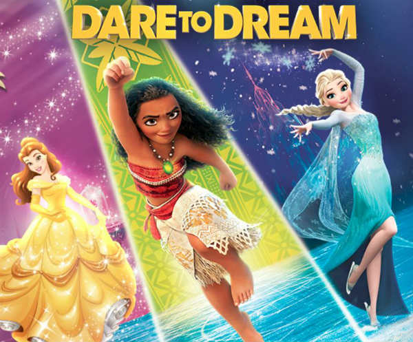 Disney on Ice Dare to Dream 2017