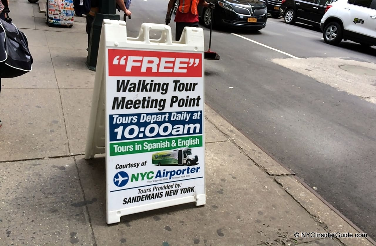 Free Walking Tours NYC