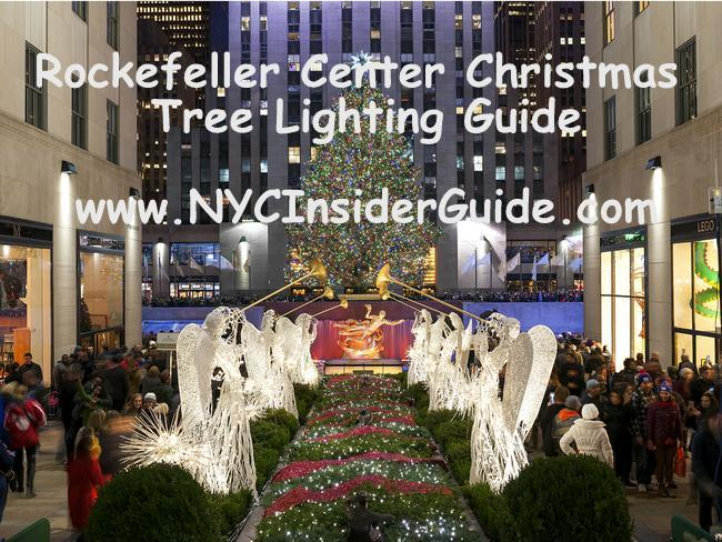 Rockefeller Christmas Tree Lighting 2020