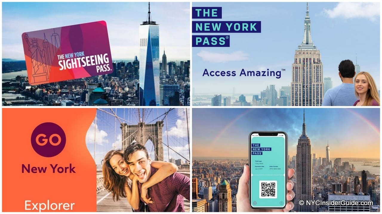 New York City Passes Compared
