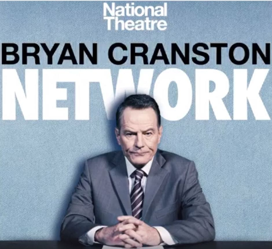 Network Broadway Play Bryan Cranston