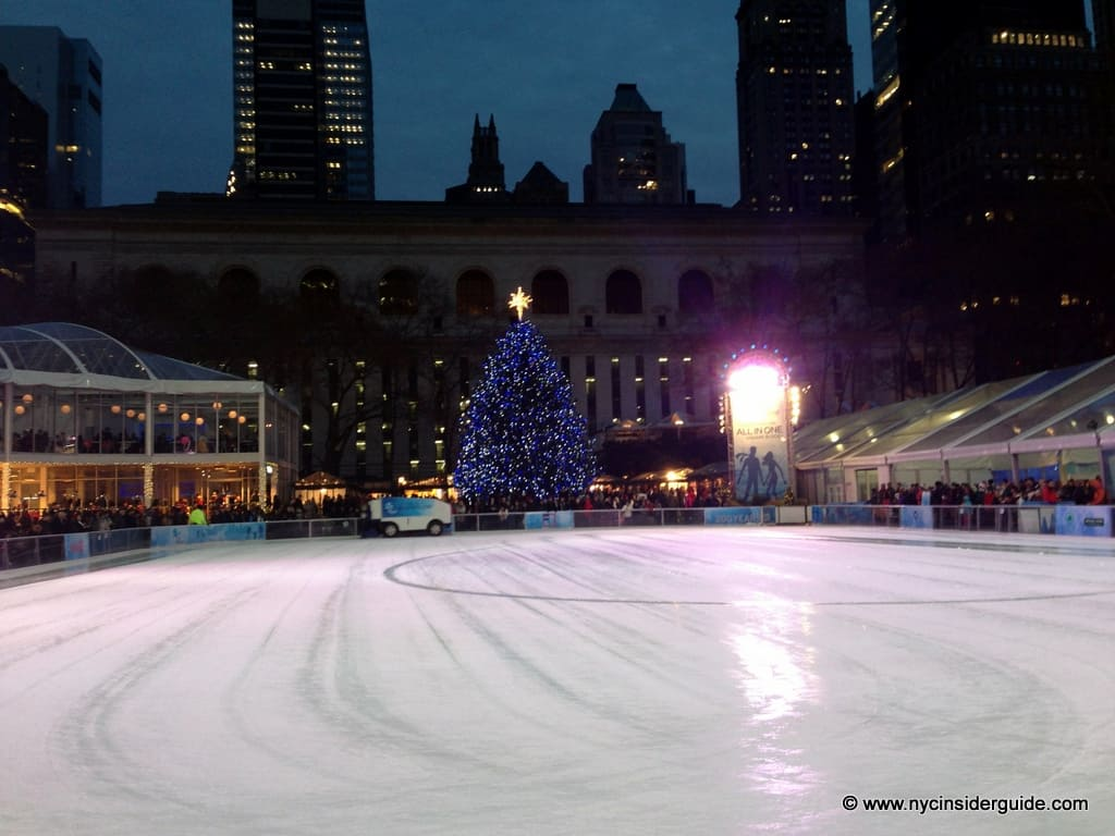 Bryant Park Holiday Market Winter Village