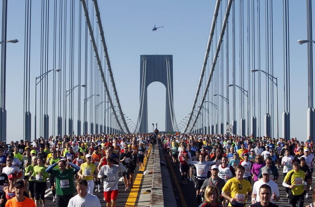 Start of New York City Marathon