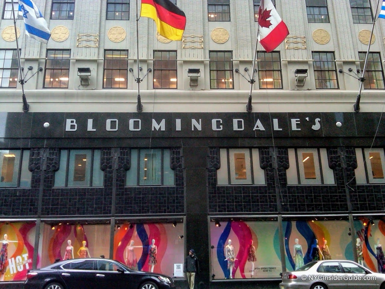 Bloomingdales Shopping in NYC