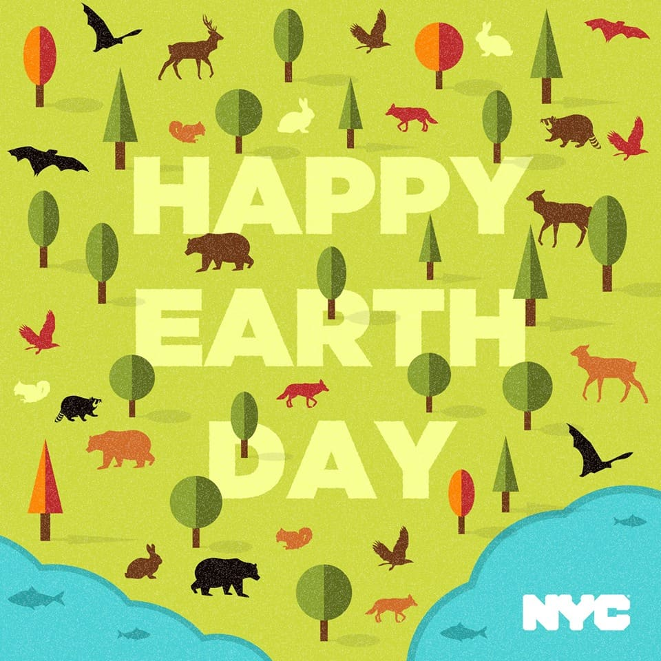 Celebrate Earth Day in New York City