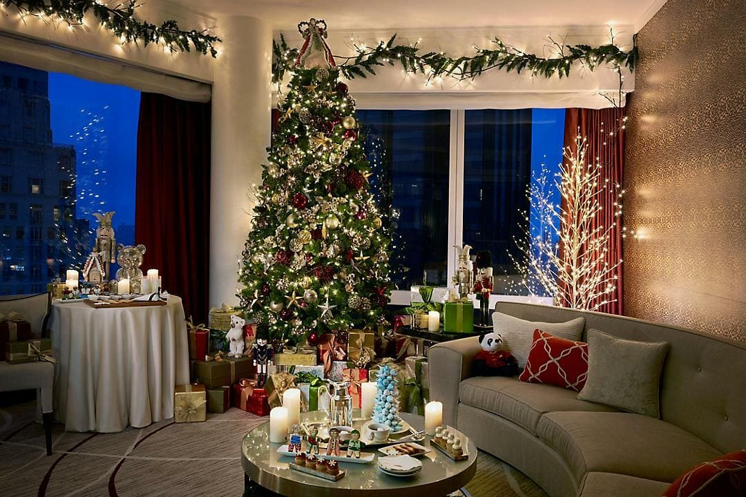 Mandarin Oriental Holiday Winter Wonderland Suite