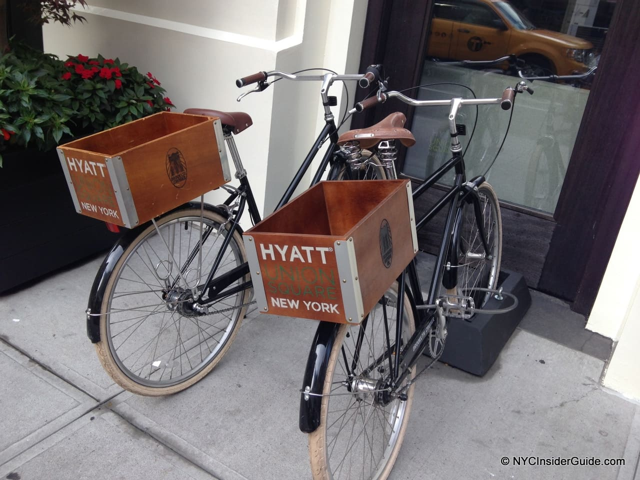 NYC Hotels with Free Bicycles