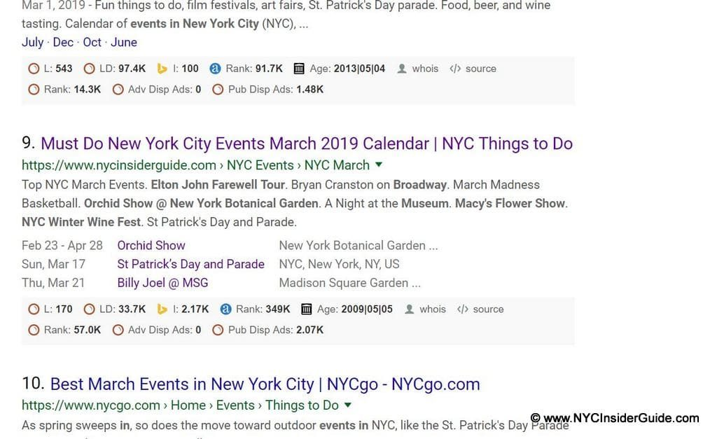 NYC Insider Guide Event Promotion Package