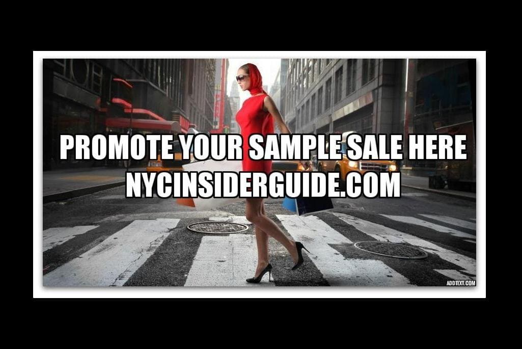 Promote NYC Sample Sale