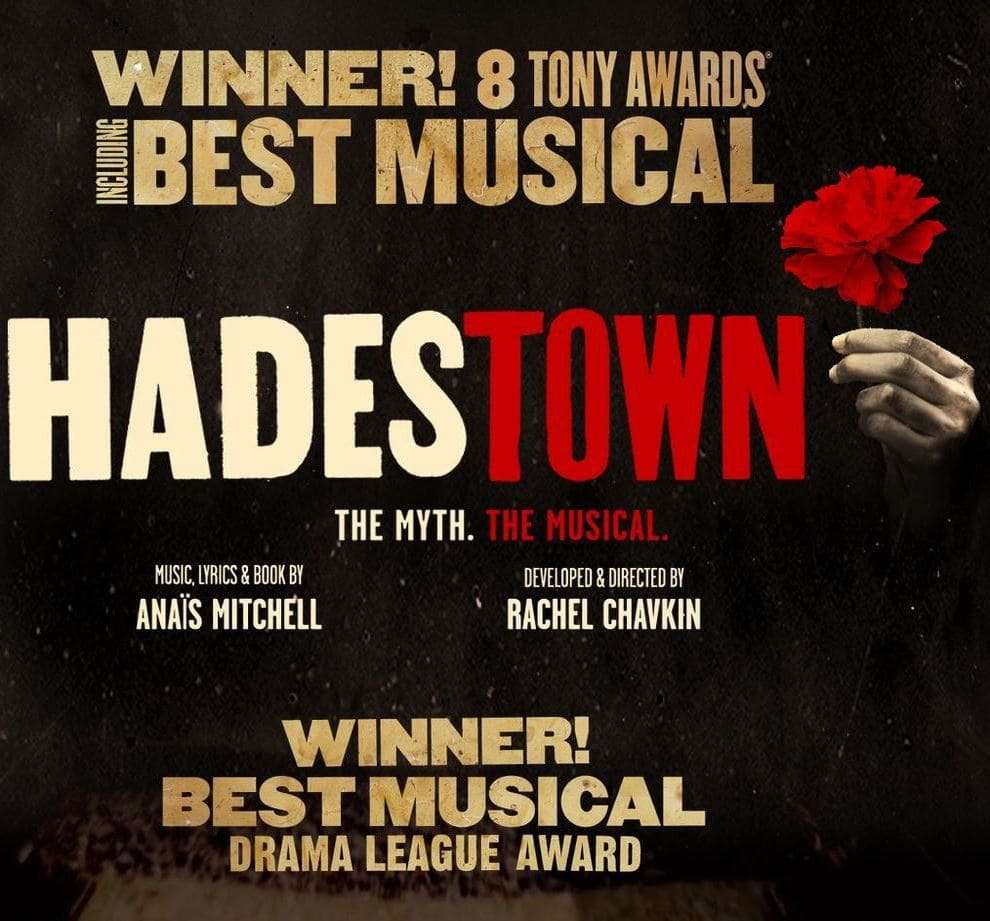 Hadestown Broadway Musical Tickets