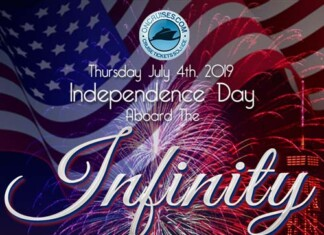 July 4th Family Fireworks Cruise Aboard Infinity Yacht