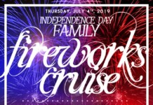 July 4th Family Fireworks Cruise Aboard Majesty Yacht