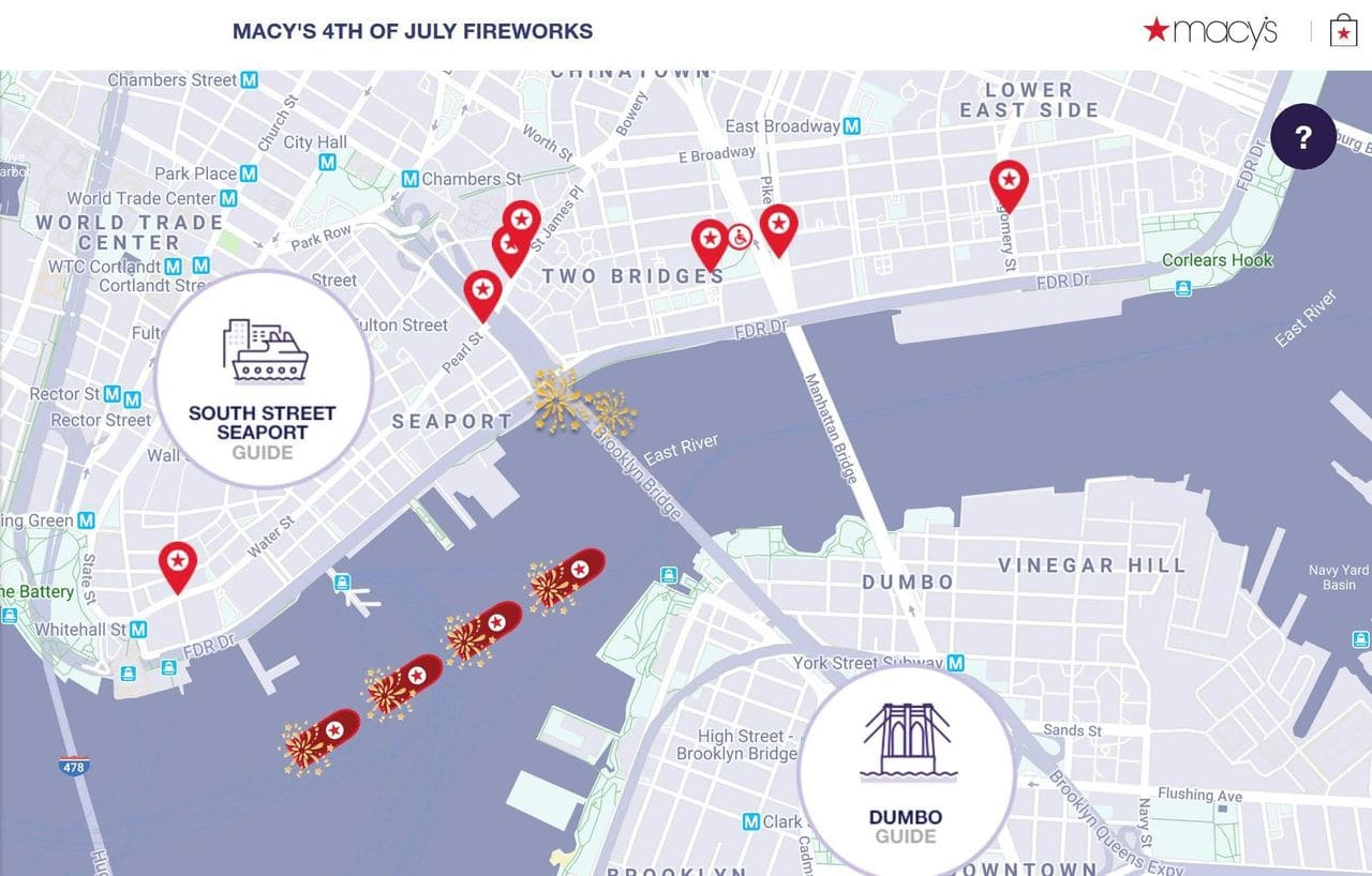 Macys Fireworks July 4th Viewing Spots 2019