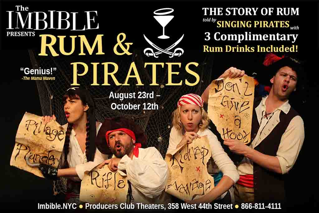 The Imbible Rum And Pirates Musical Comedy
