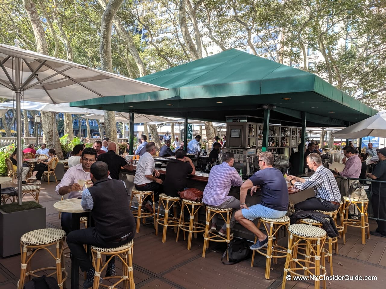 Bryant Park Cafe NYC