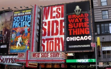 List of NYC Broadway Shows