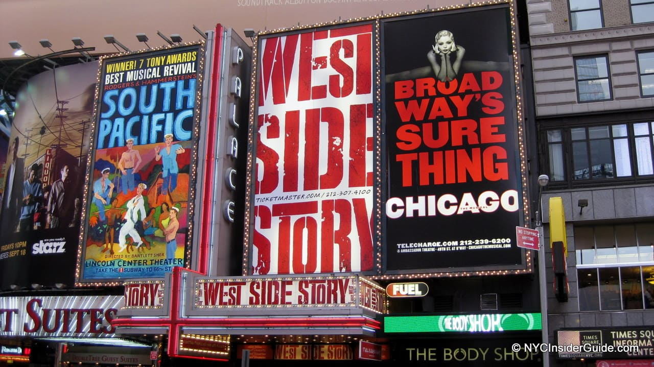 List of Broadway Shows NYC