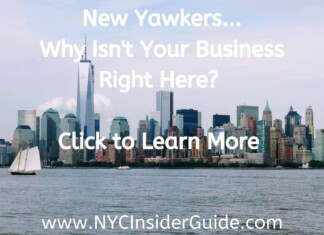 NYC Insider Guide Site Sponsors