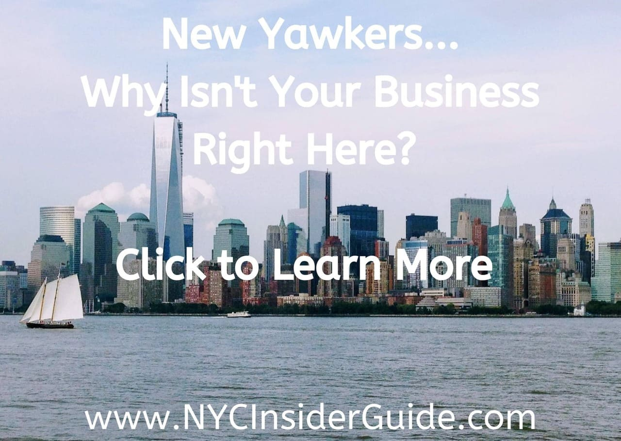 Promote YOUR Business on NYC Insider Guide