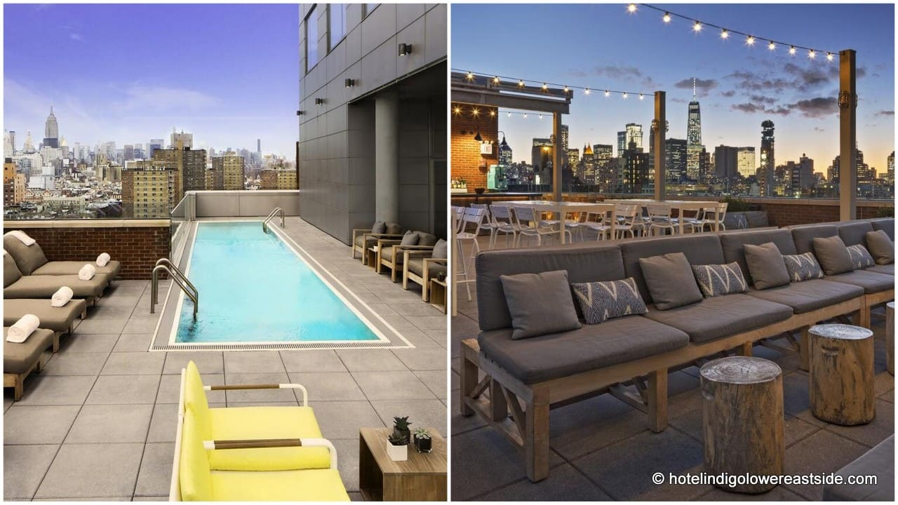 Hotel Indigo Lower East Side Rooftop Pool