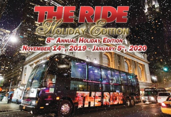 The Ride Holiday Edition Bus Tour Tickets
